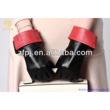 2014 hochwertige Kostüm Schaffell Leder Handschuhe