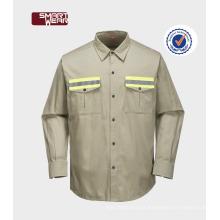 Roupa de trabalho para o uniforme do trabalho da camisa do Workwear do desgaste TC do desgaste do coordenador