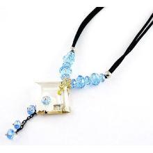Collar cristalino del diseño de moda, diseño de lujo del collar