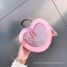 2017 vente chaude nouveau design en gros prix filles fantaisie épaule sac à main petit sac