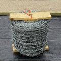 Fabricante galvanizado de la cerca del alambre de púas (EBW-15)