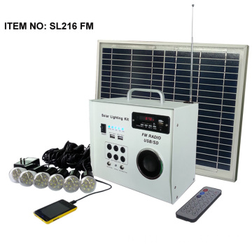 Off Grid Power Solar FM Radio Kit