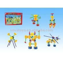 Puzzle robot plan de combat catena toys building block