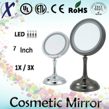 7′′ Single Sided Lit Cosmetic Table Vanity Mirror