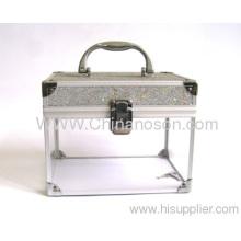Acrylic/ Pvc/aluminum/polyester/nylon Fashion Jewelry Box