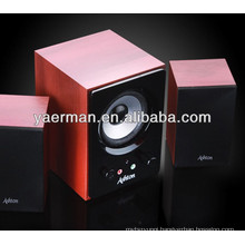 2.1 wooden multimedia speaker,speakers subwoofer