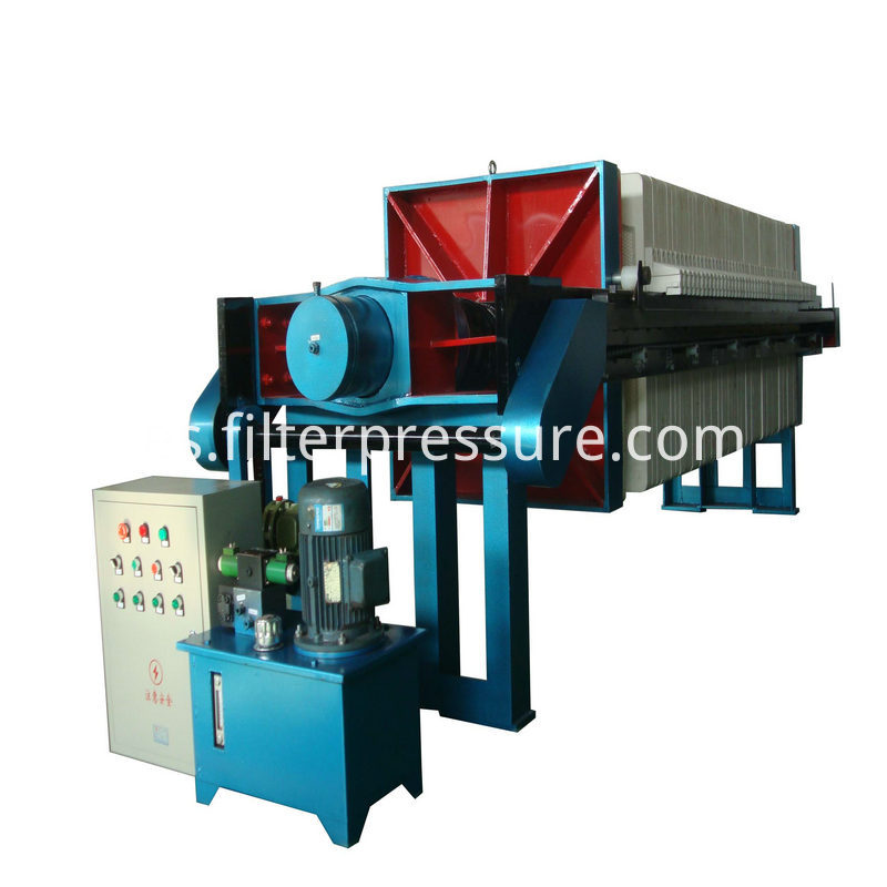 sewage cast iron filter press 3