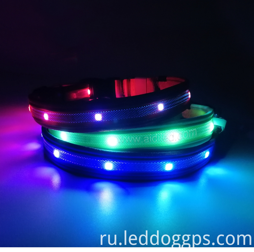 Rgb Led Dog Collar