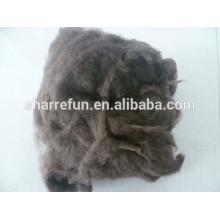 Vente en gros prix bas en gros Yak Wool Brown 19.0mic / 26mm