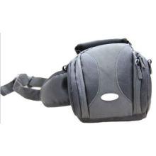 Waterproof Velcro Antiskid Inside Thick Single Shoulder Black Nylon Camera Bag