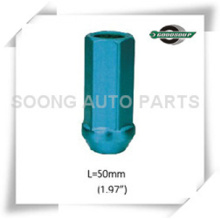 Racing Aluminum Wheel Lug Nuts, sets availabe