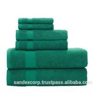 Limonengrüne Handtücher