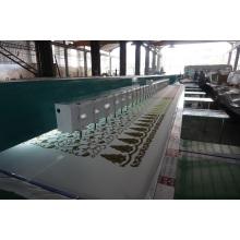 Machine de broderie de chenille (point de chaînette + point de serviette)