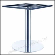 Runde Tube Pinsel Edelstahl Tisch Basis (SP-STL258)