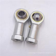 POS16, PHS16, SI16, SA16 Roulement à rotule en acier inoxydable et acier chromé