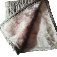 Manta de lana de coral desechable térmica edredón de lana
