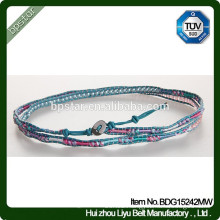 Fashion Girls Mixed Crystone Skinny Beaded Lucky Beads Bracelet/Mulher Magro