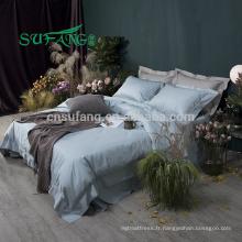 2018 Nouvelle Arrivée lit confortable ensemble housse de couette textile à la maison 100% coton