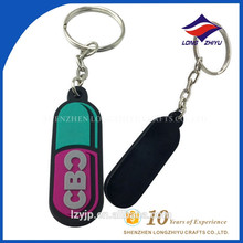Cheap Fashionable Design Your Own Logo Keychain