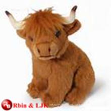 ICTI Audited Fábrica de vacas de montaña suave juguete