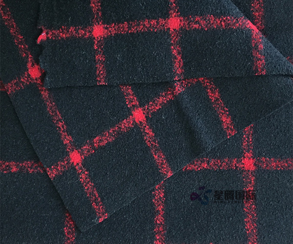 Wool Nylon Blend Double Face Fabric