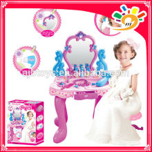 2014 new products beauty set for girls SET DRESSER WITH LIGHT AND MUSIC