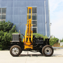 Guardrail pile driver piling machine