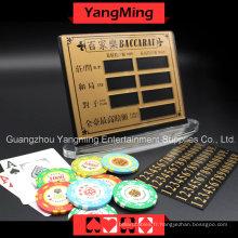 Carte de pari de divertissement de cuivre pur de haute catégorie -1 (YM-LC08)