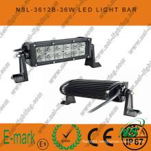 7inch 36W LED Work Light, 3060lm LED Light Bar, 3W Creee LED Light Bar for Trucks
