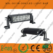7-дюймовая светодиодная рабочая лампа 36 Вт, светодиодная панель 3060 лм, светодиодная панель Creee 3 Вт для грузовых автомобилей