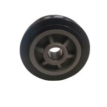 rollstuhlzubehör 6 zoll soild kunststoffrad für rollstuhlbein