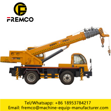 12 Ton Telescopic Boom Truck Mounted Crane