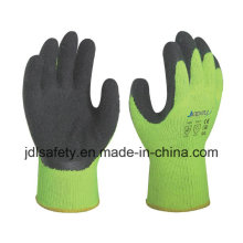 Ce Approved Latex Work Glove of High Visibility (LY2026)