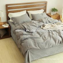 100% Linen solid color Bedding sets