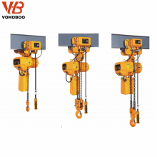 HHBB trolley type electric chain hoist
