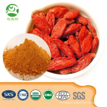 Certified Green Organic Goji Berry Powder Price