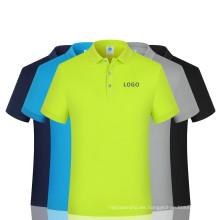 Camisas de polo Camisa de algodón 100% para hombres