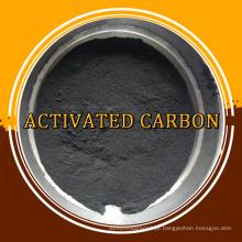 Carvão activado em pó para tratamento de águas residuais