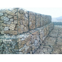 Malla de cesta de gaviones de piedra hexagonal