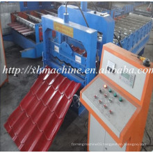 Chinese Manufacturer Glazed Roofing Tile Roll Forming Machinery