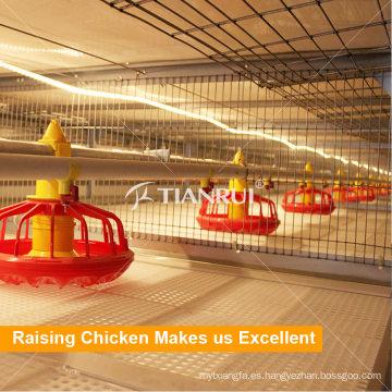 Tianrui criar pollos de engorde aves las aves automático sistema de alimentación