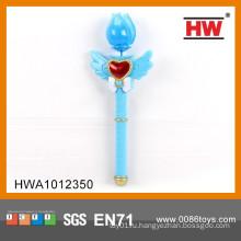 Забавная пластиковая игрушка 34CM светодиодная вспышка света волшебная палочка магнита