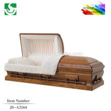 Preço do caixão padrão Carvalho estilo americano especializado