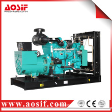 China top land generator set 350kw / 438kva 60Hz 1800 rpm marine diesel engine