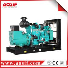 Китай верхний генератор земли 350kw / 438kva 60Hz 1800 об / мин морской дизельный двигатель