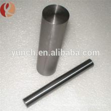 Barre ronde en pur tungstène pur en stock avec échantillon gratuit