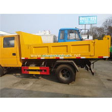 JMC double cab 4x2 tip garbage truck