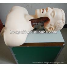 Medical Airway Entrenamiento de intubación, entrenamiento de intubación de cavidad oral o nasal