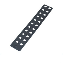 Led light silicone rubber pad parts with hole
