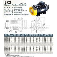 Elevator Traction Machine(Gearless ER VM Series)